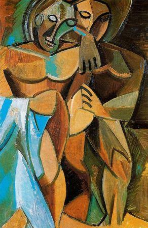 Pablo Picasso – Friendship (1908)